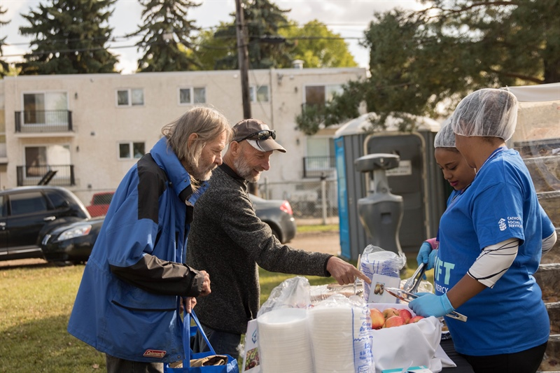 Uplift: Day of Mercy helps hundreds in need within Edmonton's inner city